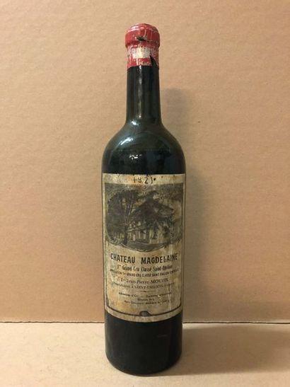 1 Blle Château MAGDELEINE (St Emilion GCC1)...