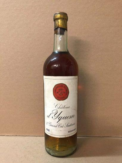 1 Blle Château YQUEM mise Vandermeulen 1918...
