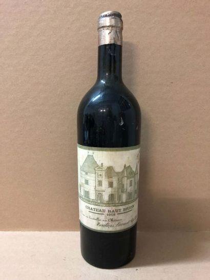 1 Blle Château HAUT BRION (Graves) 1918 -...
