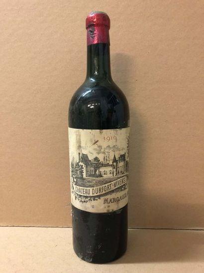 1 Blle Château DURFORT VIVENS (Margaux) 1916...