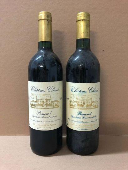 1 Blle Château CLINET (Pomerol) 1997 - Belle...