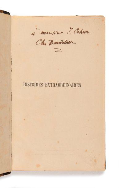 BAUDELAIRE (Charles). – POE (Edgar Allan)....