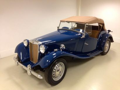 1953  MG TD  La MG TD est présentée en 1949,...