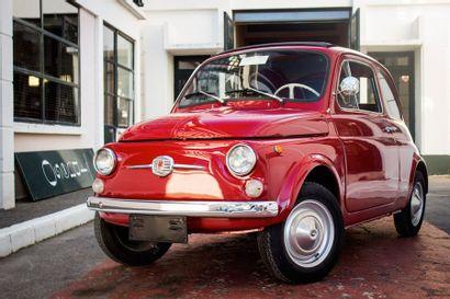 1968  FIAT 500 F  Numéro de série 1834986...