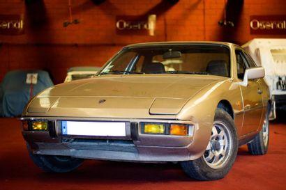 1983  Porsche 924  Numéro de série WPOZZZ92ZDN401213...