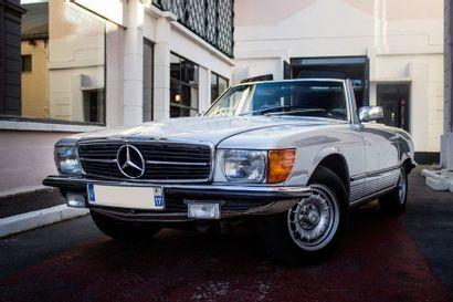 1981  MERCEDES-BENZ 280 SL R107  Numéro de...