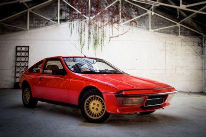 1981  MATRA MURENA  Numéro de série X5551BX604830...