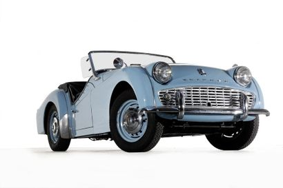 1958  TRIUMPH TR3  Numéro de série TS23229L0...