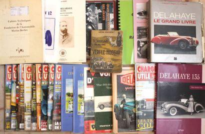 « Delahaye, le grand livre » et ouvrages...