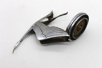 """Francois Victor BAZIN (1897-1956)  « Mascotte Hispano-Suiza » « Cigogne """"  Mascotte..."""
