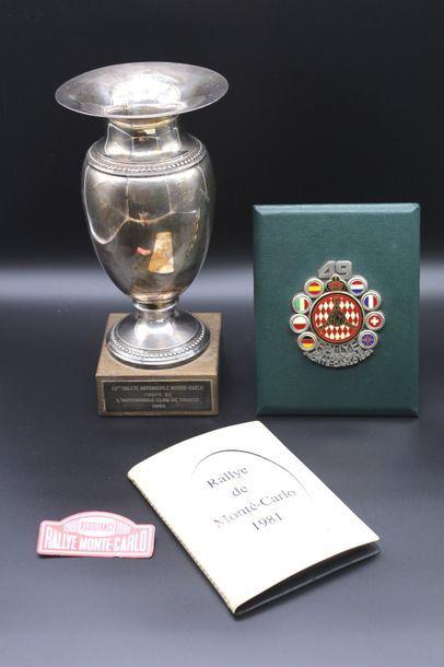"""""""Souvenirs du Rallye Monte Carlo 1981 de Jean Luc Thérier""""  Souvenirs du Rallye..."""