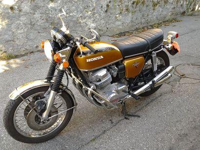 1973 HONDA CB 750 K2 Même propriétaire depuis...