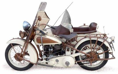c1931 Harley Davidson 1 200 cc « model 74...