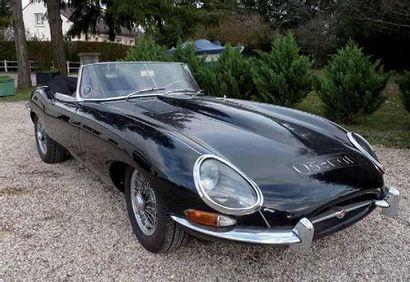 1963 JAGUAR Type E 3,8 Cabriolet