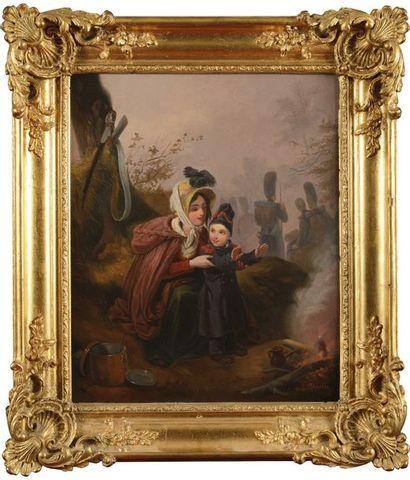 Louis Alexandre MAROLLES (né en 1820). Ecole...