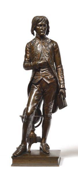 Louis ROCHET (1813-1877) « Bonaparte à Brienne...