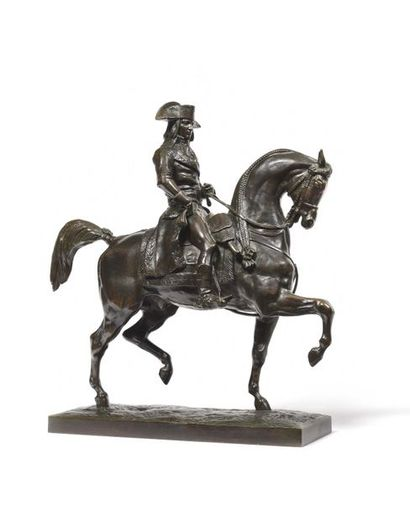 Antoine Louis BARYE, d'après. « Bonaparte...