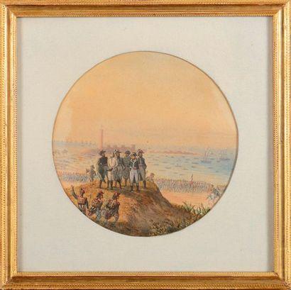 Edouard PINGRET (1785-1869), attribué à....