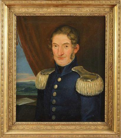 siècle, vers 1830. « Portrait du Major Francisco...