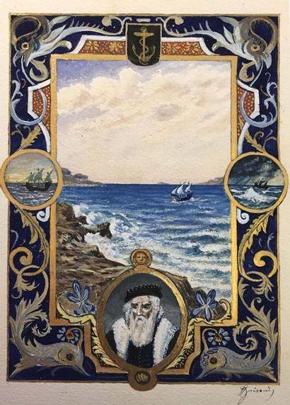 Antoine GUIRAUD (1800-1879) Carolo Quinto,...