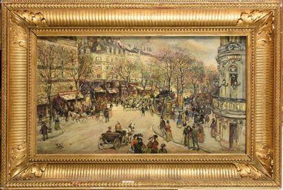 Jean-François RAFFAELLI (1850-1924) Boulevard...