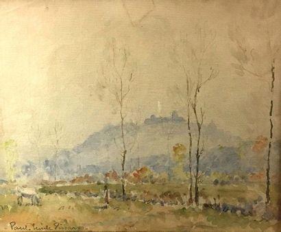 Paul Émile PISSARRO (1884-1972) Forêt et...