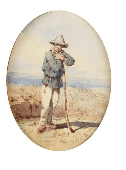 Charles François J. PENSÉE (1799-1871) Portrait...