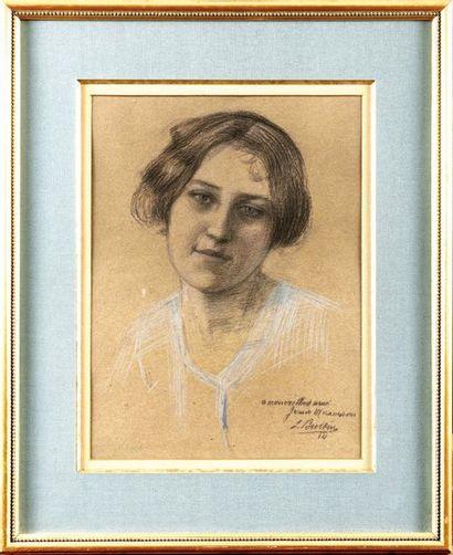 Jean-Louis BURTIN (1878-1940) Portrait de...
