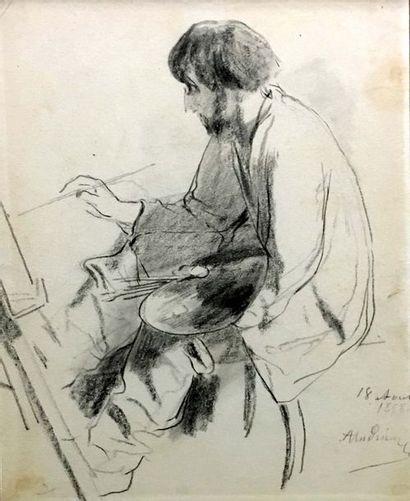 Clément-Auguste ANDRIEUX (1829-1880) Portrait...