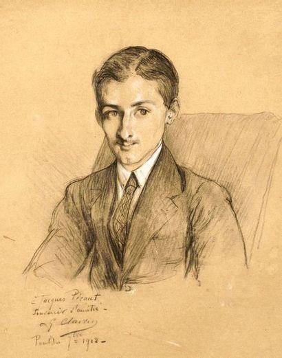 Georges CLAIRIN (1843-1919) Portrait de Jacques...