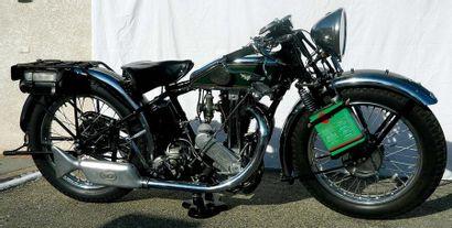 1929 Magnat Debon 350CC Numéro de série 83890  Carte grise française  Il s'agit du...