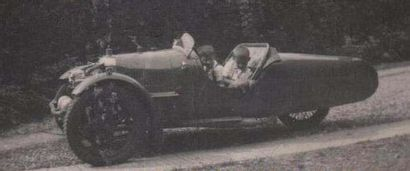 1927 Darmont Special Châssis n° 1383 Moteur n° 50551 (carte grise) Carte grise de...