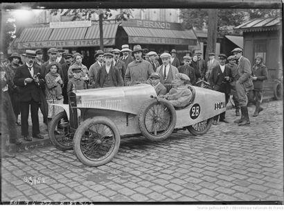 1928 D'Yrsan Type BS Châssis n° 244 Carte grise de collection Raymond de Siran de...