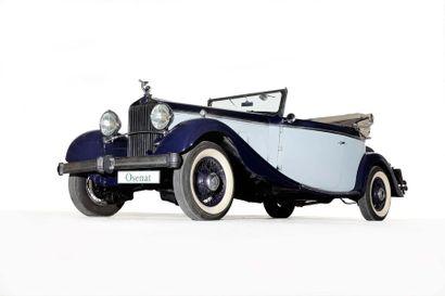 1934 Delage D8-15 Cabriolet Chapron
