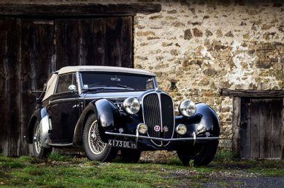 1938 Delahaye 135 M Cabriolet