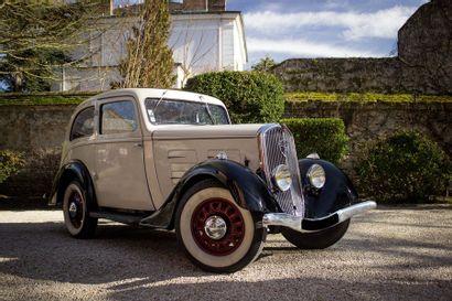 1936 Peugeot 201 D