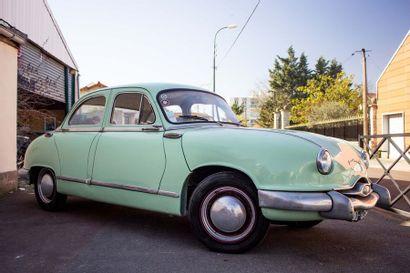 1955 Panhard Dyna Z1