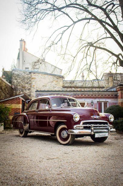 """1952 Chevrolet Styleline """"Deluxe"""" Numéro de série 2139310  Même propriétaire depuis..."""