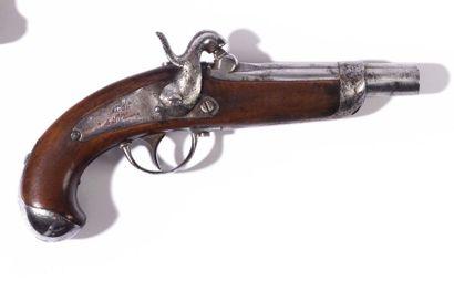 Pistolet à percussion de gendarmerie modèle...