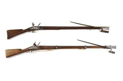 Fusil d'infanterie à silex modèle 1777- An...
