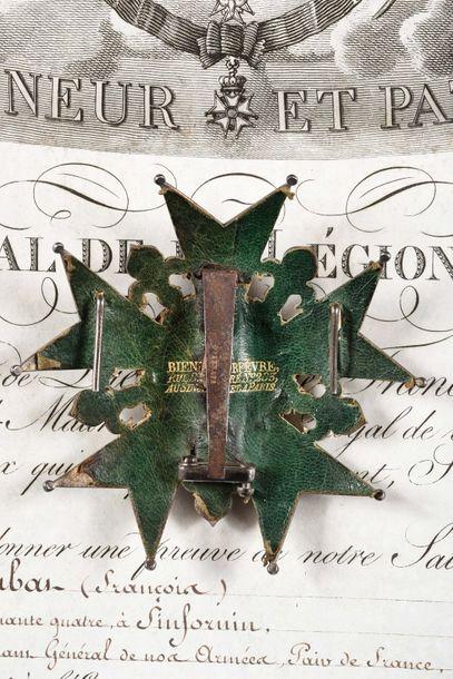 FRANCE ORDRE DE LA LEGION D'HONNEUR, institué en 1802. Plaque d'habit du Général...