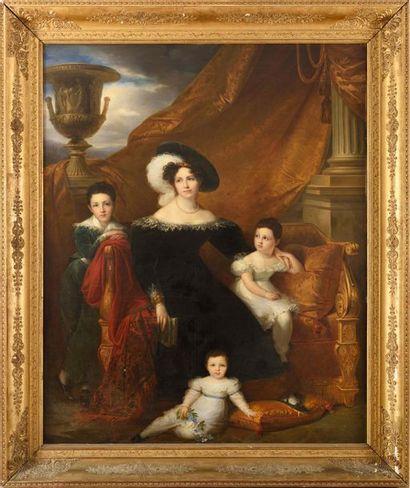 François-Joseph KINSON (Bruges, 1771 - 1839)...