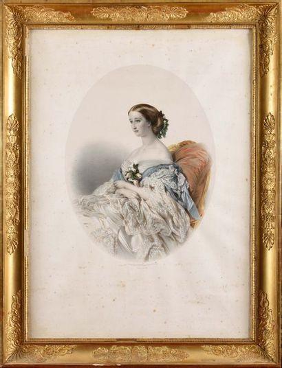 Franz WINTERHALTER, d'après «Portrait de...