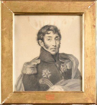 Louis LAMARQUE (1799-1860). Ecole française....