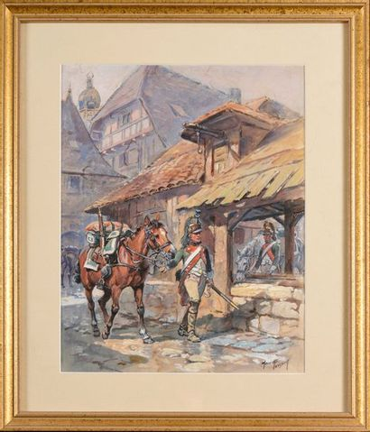 Maurice TOUSSAINT (1882-1974) « Dragon du...