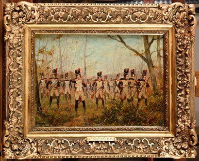 Paul Emile PEYRBOYRE (1851-1929) « Grenadiers...