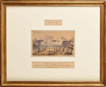 Théodore JUNG (1803-1865) « Episode de la...