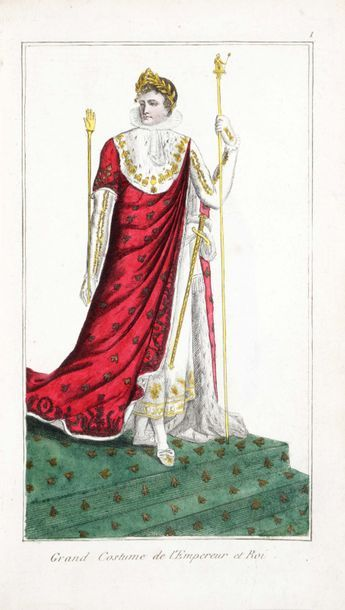 MARTINET. Costumes de l'Empereur Napoléon,...