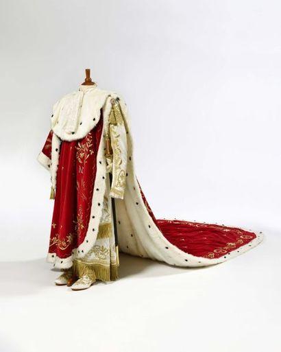 Grand costume de sacre de l'Empereur Napoléon...