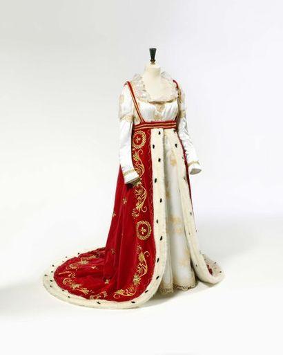 Costume de sacre de l'Impératrice Joséphine....